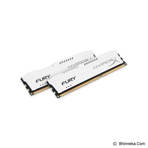 KINGSTON Memory PC 2x 4GB DDR3 PC-15000 [HyperX Fury HX318C10FWK2/8] - Memory Desktop Ddr3